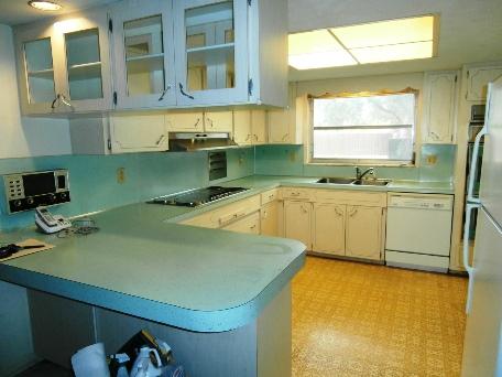cucina dopo pulizia